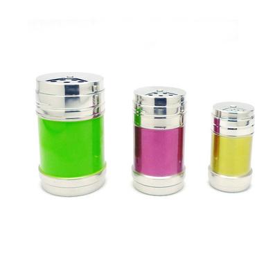 小號彩色不銹鋼調料瓶 調料盒 調味瓶 定制