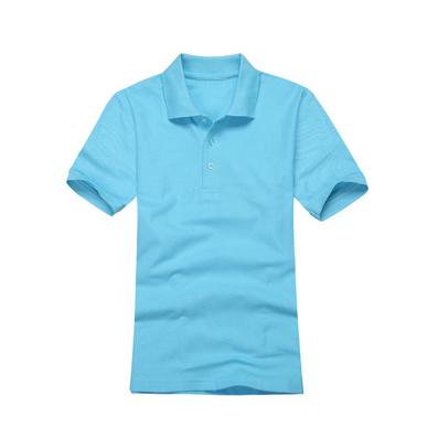 廣告文化衫 男女款翻領短袖T恤定制