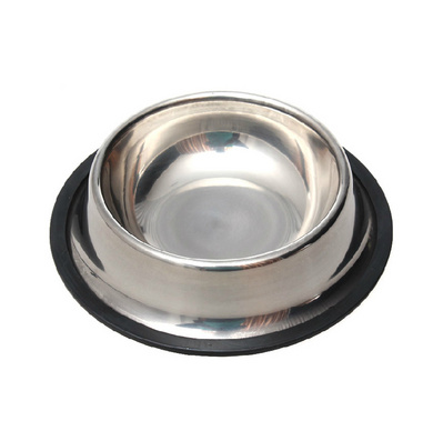 加厚款不銹鋼寵物碗 寵物盆定制