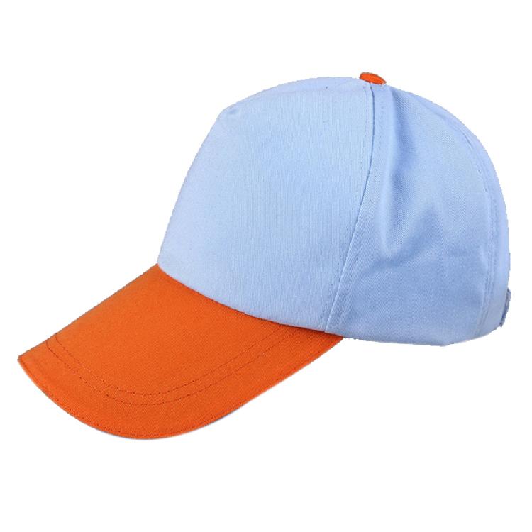广告帽 时尚拼色快餐工作帽 太阳帽定制