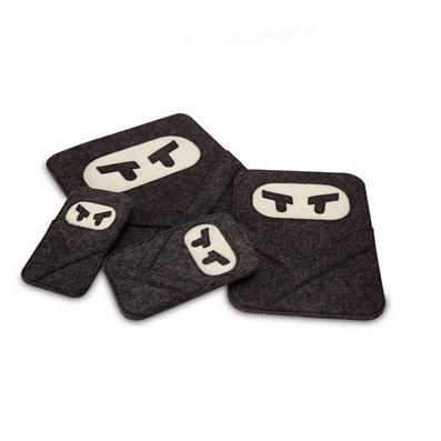 羊毛毡愤怒的忍者ipad、ipad min ipad air保护套 电脑包