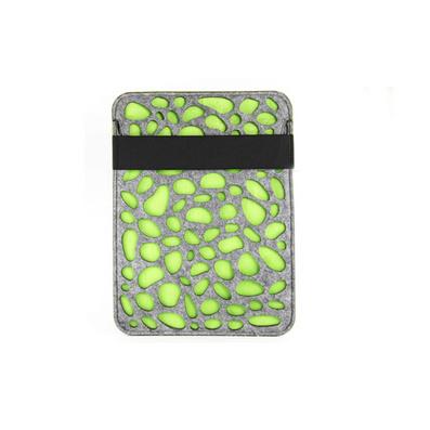 创意镂空荧光糖果色毛毡花纹 电脑保护套 ipad包