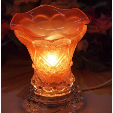 玻璃香熏燈 香薰燈  小水晶燈定制