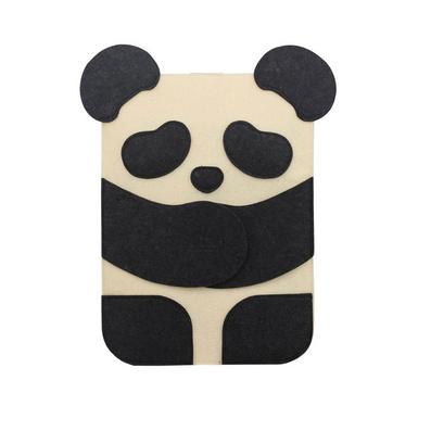 創意卡通毛氈ipad包保護套 可愛熊貓電腦包