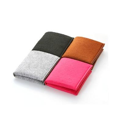 毛氈男女式卡包 短款 多功能收納錢卡包