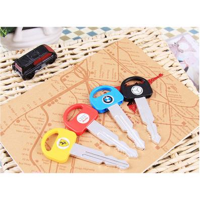 韩国文具 创意文具 ?#26222;?#27773;车钥匙造型圆珠笔