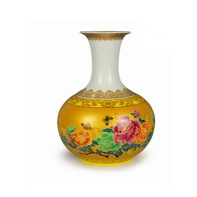 新款 專利瓷器 花瓶茶葉罐 兩用定制
