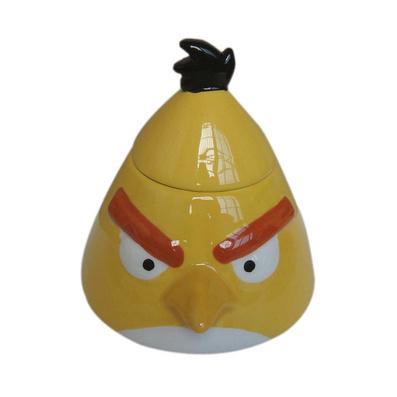 愤怒的小鸟系列陶瓷罐 调味罐定制
