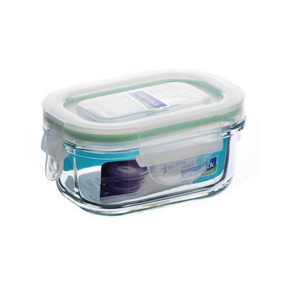 長方形玻璃保鮮盒 150ml定制