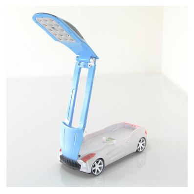 創意炫酷跑車充電護眼燈 學生學習閱讀臺燈 led折疊旋轉床頭燈定制