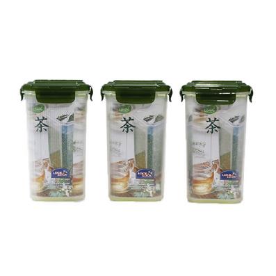 樂扣樂扣茶葉罐 塑料密封罐 1.2L定制