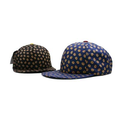 韓國ROCSTAR 權志龍新款花點翻檐嘻哈帽平沿帽