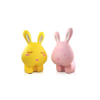 学生儿童可爱 给力兔子台灯/ 兔兔充电LED节能可折叠小台灯