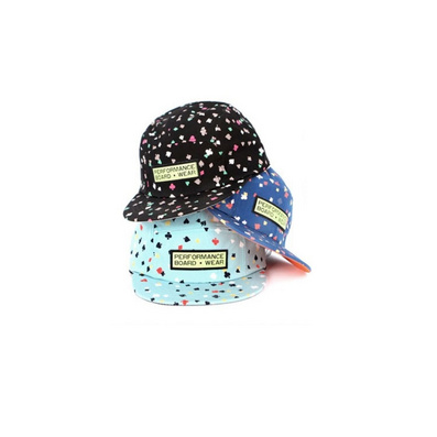 韩国趣味扑克图案平檐鸭舌帽休闲帽潮平沿嘻哈棒球帽
