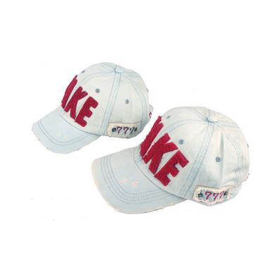 牛仔棒球帽 TAKE 新款鸭舌帽 儿童帽子