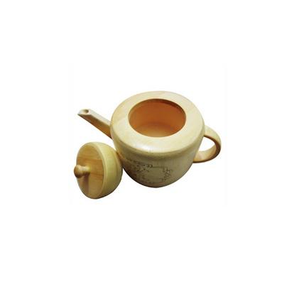 天然本色竹制茶壺 酒壺 迷你茶壺定制