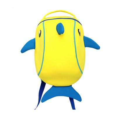 防水環保潛水料兒童書包幼兒園雙肩包小朋友背包海豚包