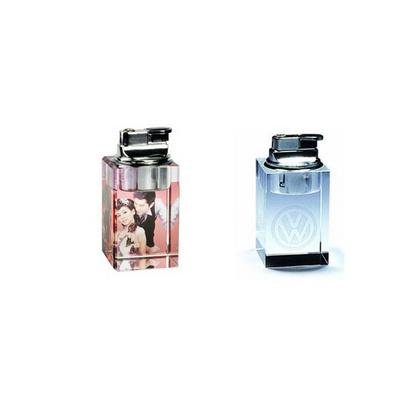 高檔水晶商務禮品,水晶打火機定制