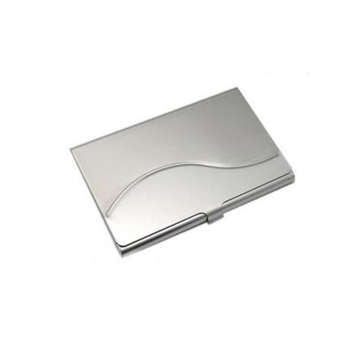 不銹鋼波浪名片盒名片包 大容量金屬高檔名片夾