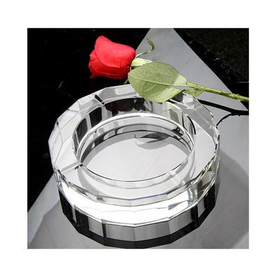 十六面款式商务水晶烟灰缸定制
