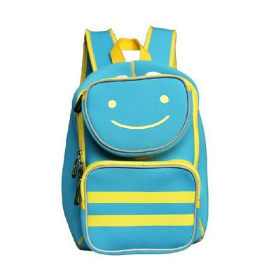 潛水料兒童書包學生雙肩背包小朋友幼兒園背包帶反光條