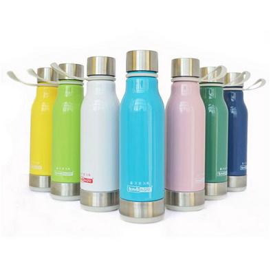 550ml韩版仿陶瓷运动水壶 时尚个性创意水杯定制