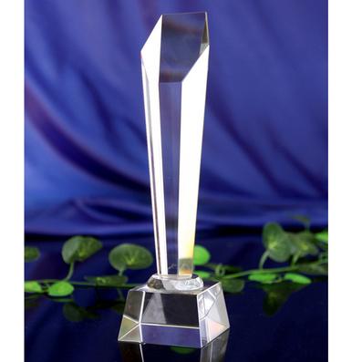 經典六角斜面水晶獎杯獎牌定做定制 比賽頒獎活動獎品