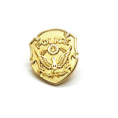 金色優質銅質徽章批量定制