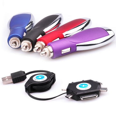 萬能車載充電寶 多功能車載充電器