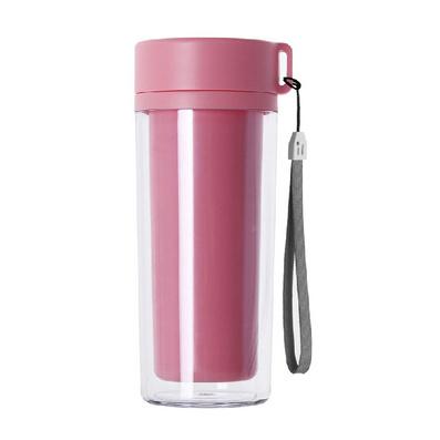 300ML双层水杯 (挂绳) 广告塑料杯定做