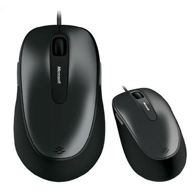 微软 舒适蓝影 有线鼠标 游戏鼠标 笔记本 台式电脑