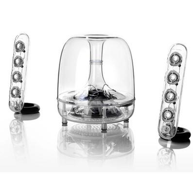 JBL SOUNDSTICKS BT 3代水晶无线蓝牙音响 桌面音箱
