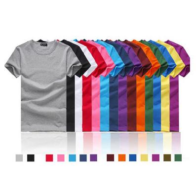 200克全棉精梳短袖T恤/圆领衫/文化衫/广告衫