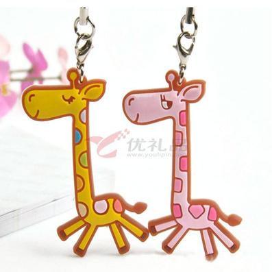 长颈鹿挂件  钥匙扣