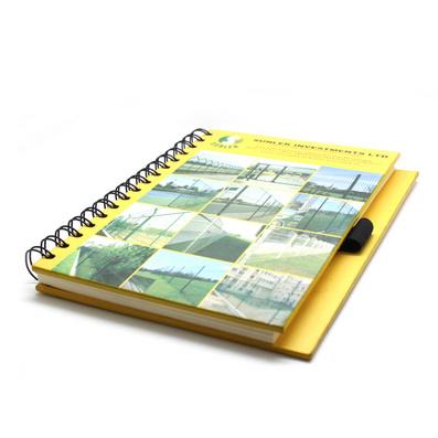 硬纸封皮线圈笔记本