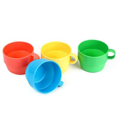 塑料杯子 兒童杯 漱口杯 套杯 彩色水杯
