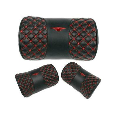 红酒定型枕 车用护颈枕 立体颈枕定制