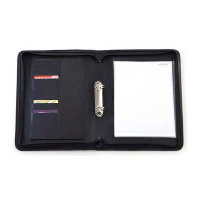 經理夾文件夾定制  皮革文件夾