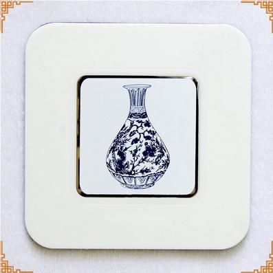 青花瓷六片杯垫 创意礼品