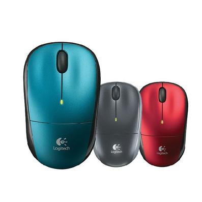 罗技无线鼠标 无线鼠标 办公鼠标 笔记本鼠标无光更省电