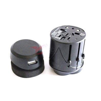 全球通用旅行插座(带USB口)/多功能旅行转换插座/万能插座