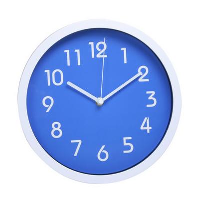 10寸工程ABS外壳简约创意客厅卧室办公室静音实用挂钟