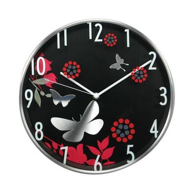 12寸金属客厅静音创意艺术挂钟