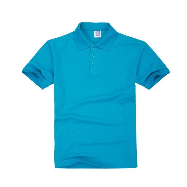 翻領短袖t恤男女同款POLO潮衫可印制刺繡南國新秀T恤