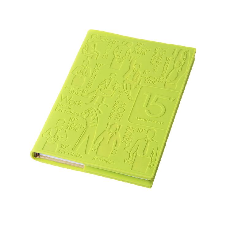 Stylor/法國花色健康BOOK筆記本提醒你運動的筆記本商務禮品