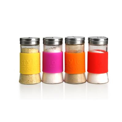 Stylor/法国花色调味瓶罐 调料瓶 佐料瓶四件套