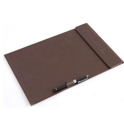 經理夾 A4板夾 高級磁性墊板帶筆扣合同簽約夾