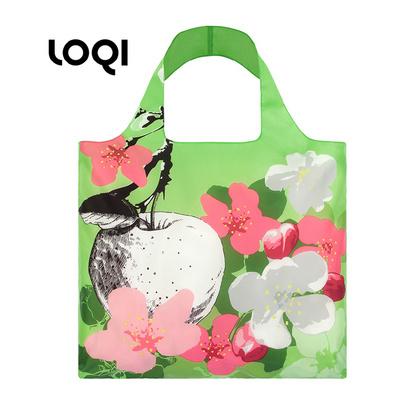 LOQI 花卉系列 购物袋 单肩包 时尚潮流环保多功能折叠包春卷包定制