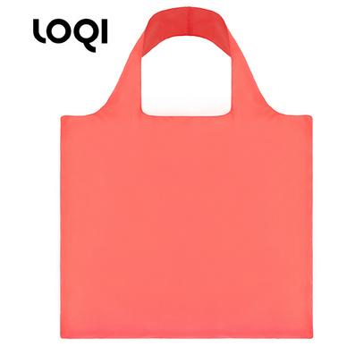 LOQI 春卷包 單色系列  購物袋單肩斜跨女包折疊袋定制