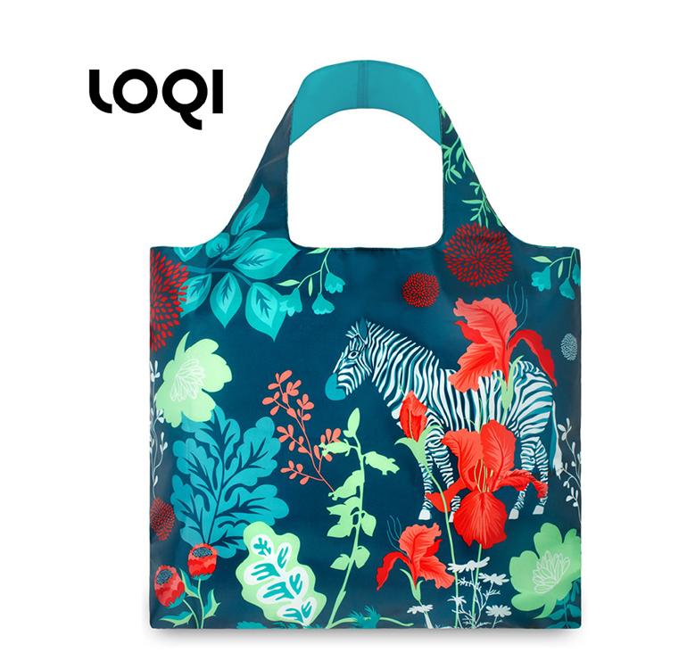 LOQI 春卷包│森林系列新潮包 折疊包 購物袋 單肩斜跨大包定制